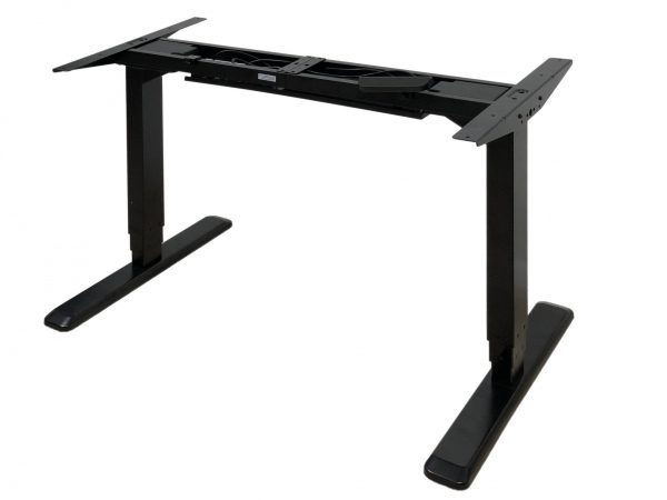 ErgoMax Dual Motor Desk ABC592BK in Black