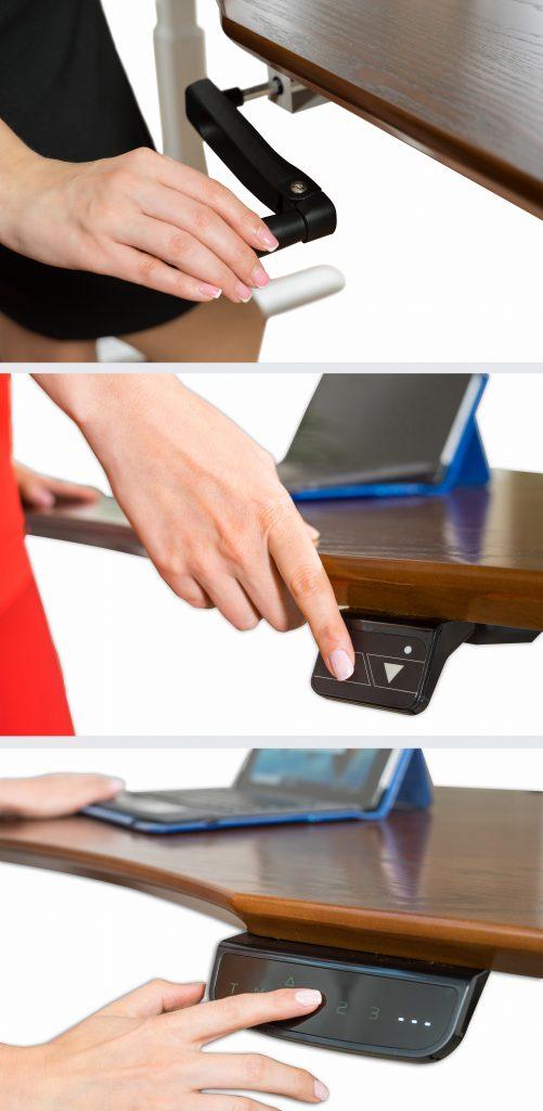 ErgoMax Dual, Single and Crank Desks